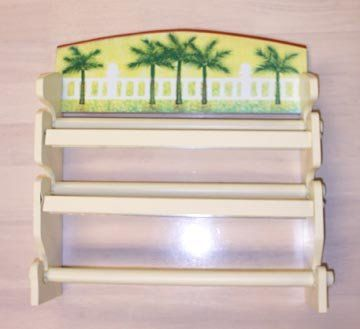 PALM TREE Kitchen Paper TOWEL Wrap Organizer Home DECOR *** Read More  Reviews Of