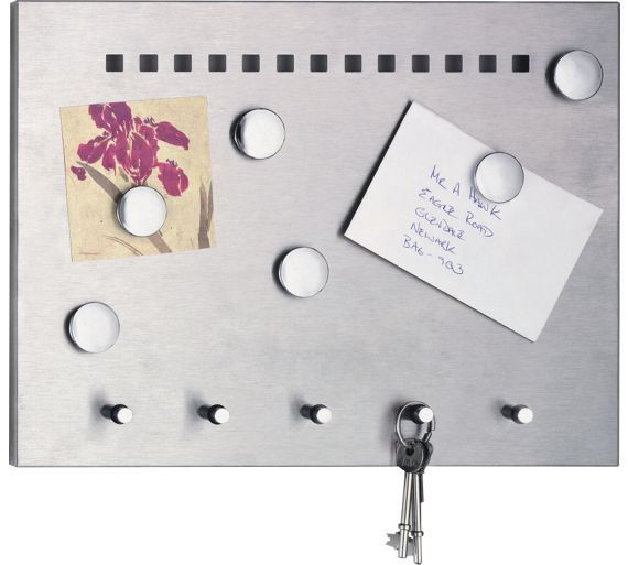 Buy Home Stainless Steel Memo Board At Argoscouk Your