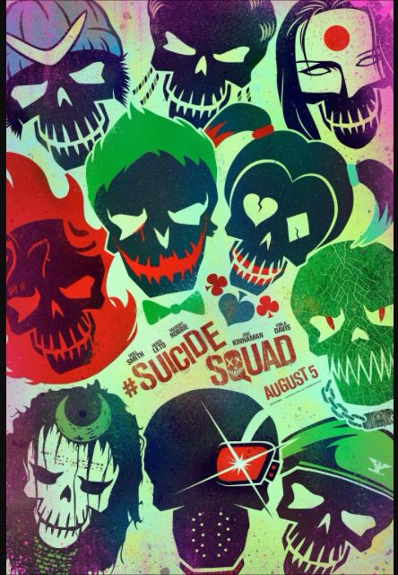 A movie I'm definitely exited about seeing suicide squad