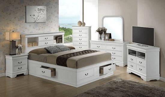 Mayssa Storage Platform Configurable Bedroom Set Bedroom