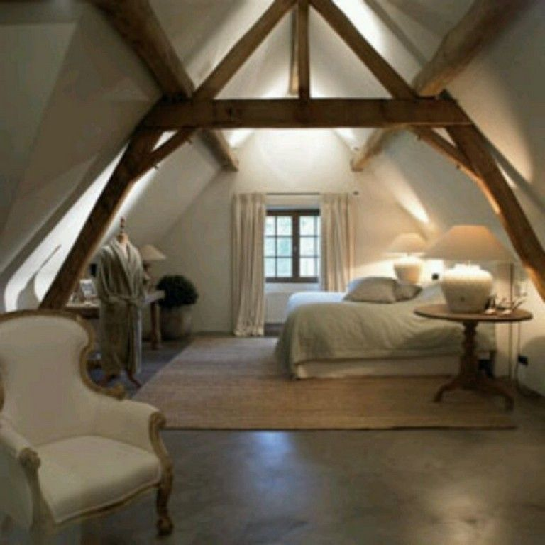 Loft Bedroomdesign: 40+ Quality Attic Bedroom With Wall Of Skylights