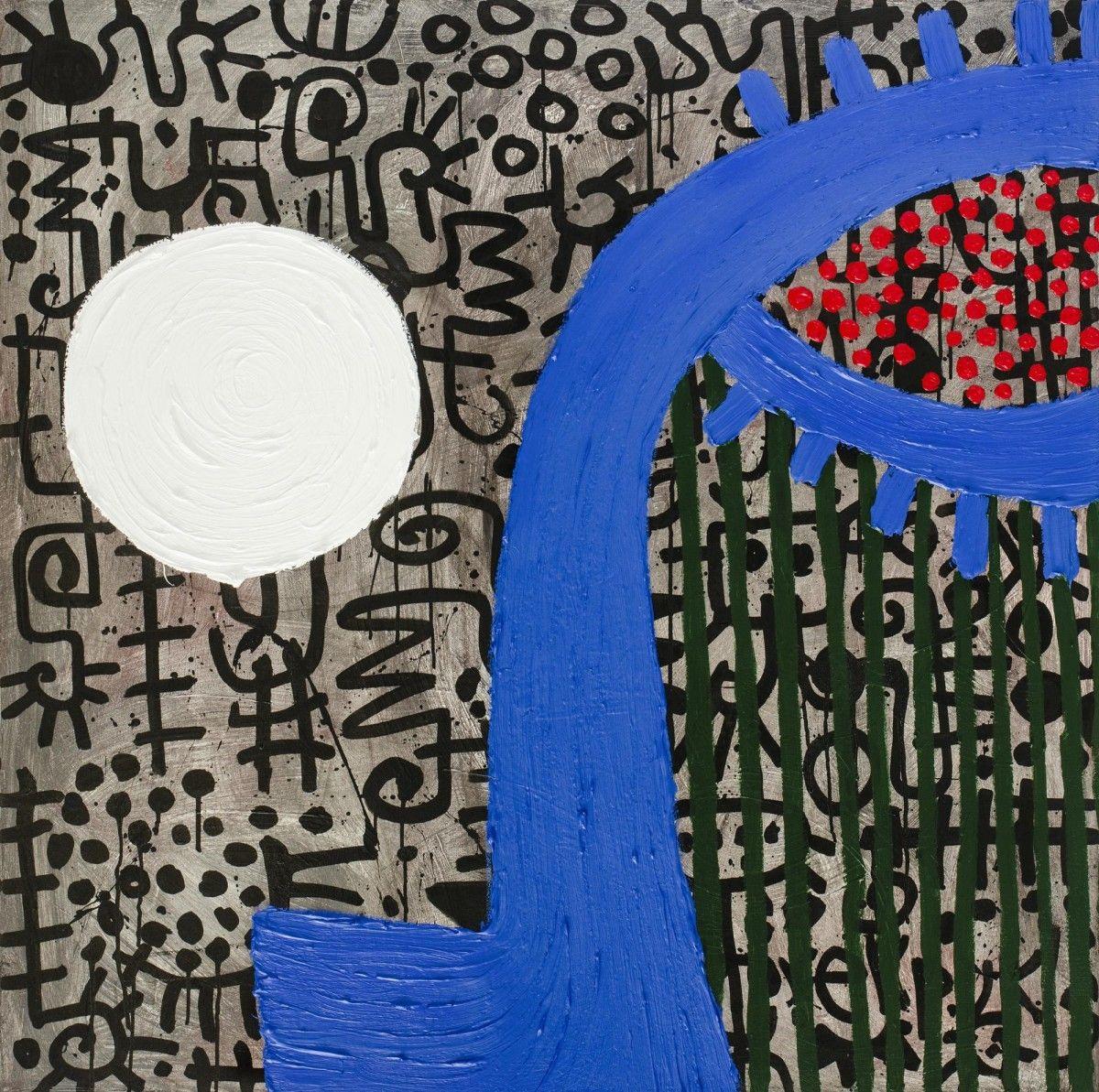 Resultado de imagen para pinturas de Victor Ekpuk