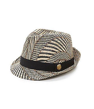 Vince Camuto Zebra Print Fedora  Dillards Hat Hairstyles cb7d75ecd08