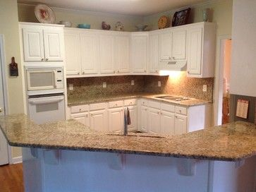 Giallo Ornamental Countertops   Traditional   Kitchen   Atlanta   E U0026 D Granite  City