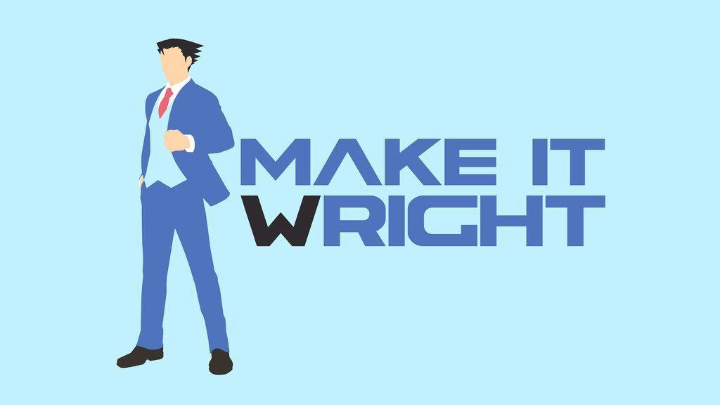 Ace Attorney Wallpaper Phoenix Wright Attorneys Apollo Justice