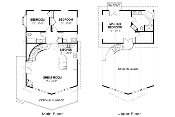 Nos llamo la atencion este modelo tipicamente americano de for Donde estudiar diseno de interiores
