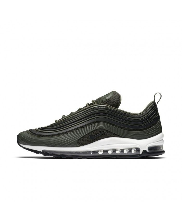 Nike Air Max 97 Trainers In Ultra Premium Olive Green