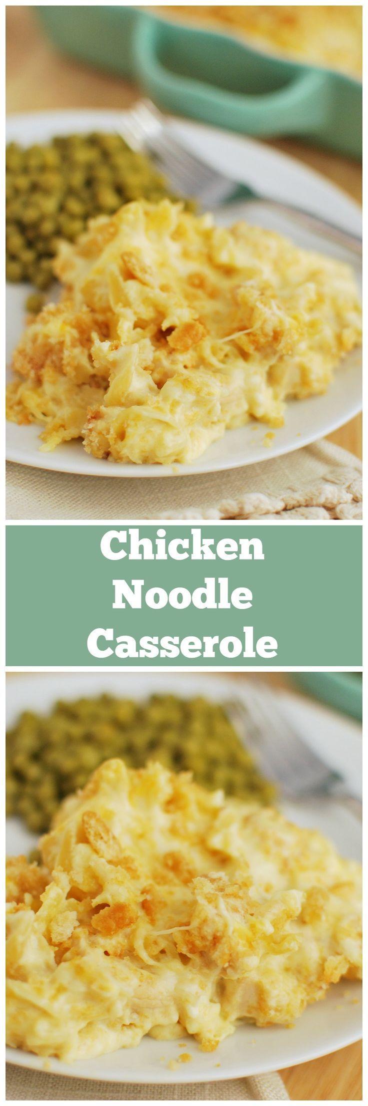 Cheesy chicken noodle casserole fake ginger recipe