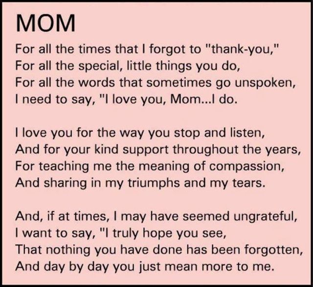 My Son Sent This To Me Made Me Smile Mom Quotes Mom Quotes From Daughter Thank You Mom Quotes