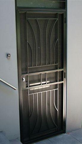 solid steel door | Steel doors, Steel door design, Metal ...