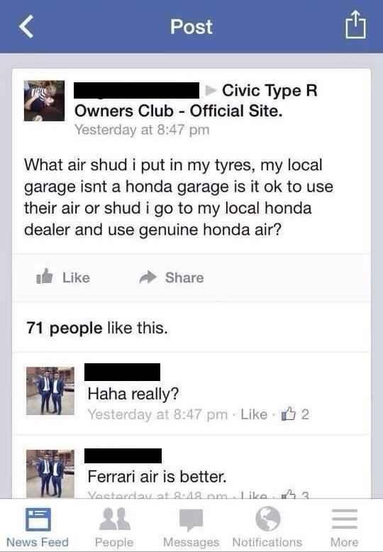 And This Cautious Honda Civic Driver This Or That Questions Honda Civic Honda