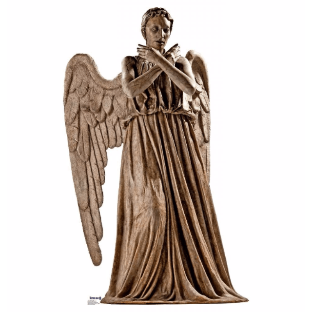 Welcome Coming Soon Weeping Angel Advanced Graphics Doctor Who Shop