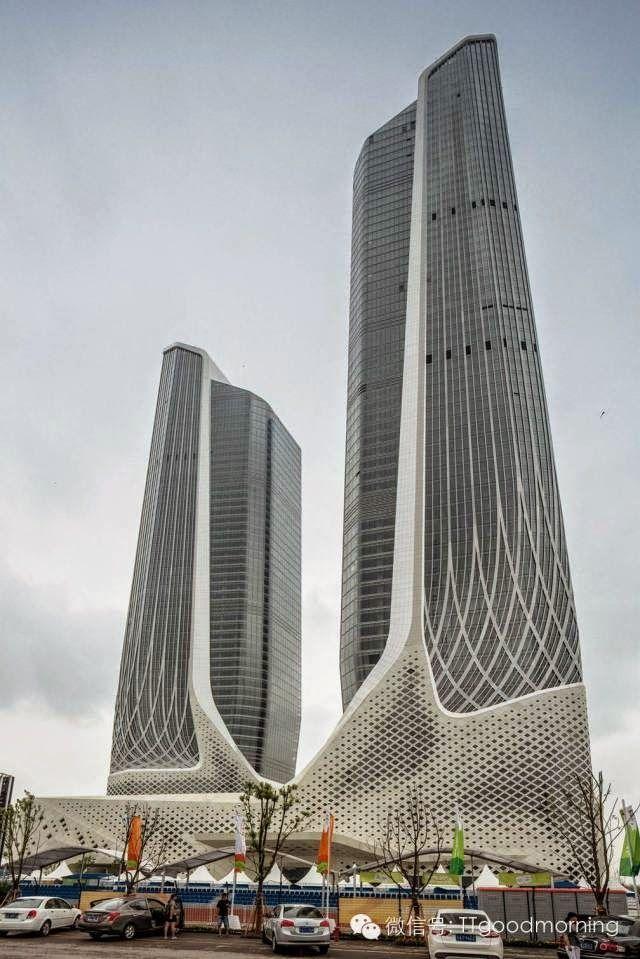 Nanjing Centro Olímpico de la Juventud - Zaha Hadid - China.