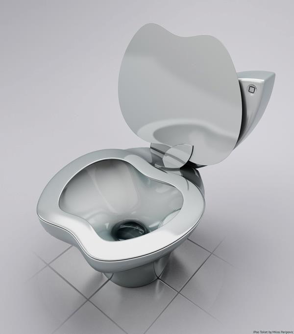 El Apple inodoro para tu baño.