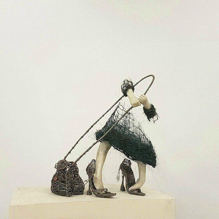 Las esculturas incompletas de Nele Kilde capturan las heridas de la infancia  - Cultura Inquieta en 2020 | Esculturas, Escultura figurativa, Infancia