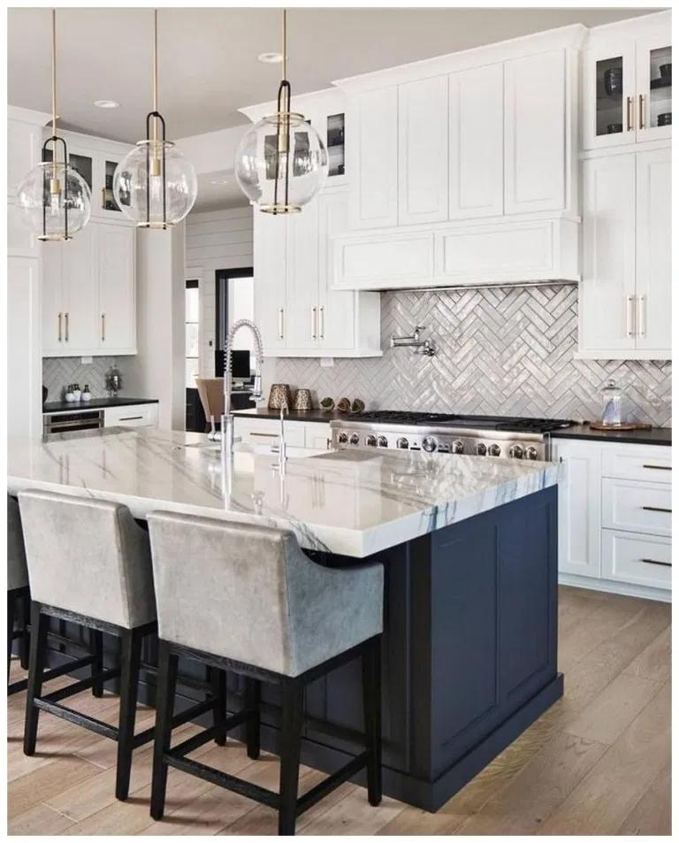 60 elegant white kitchen design ideas for more comfortable educabit home decor kitchen on kitchen ideas elegant id=37146