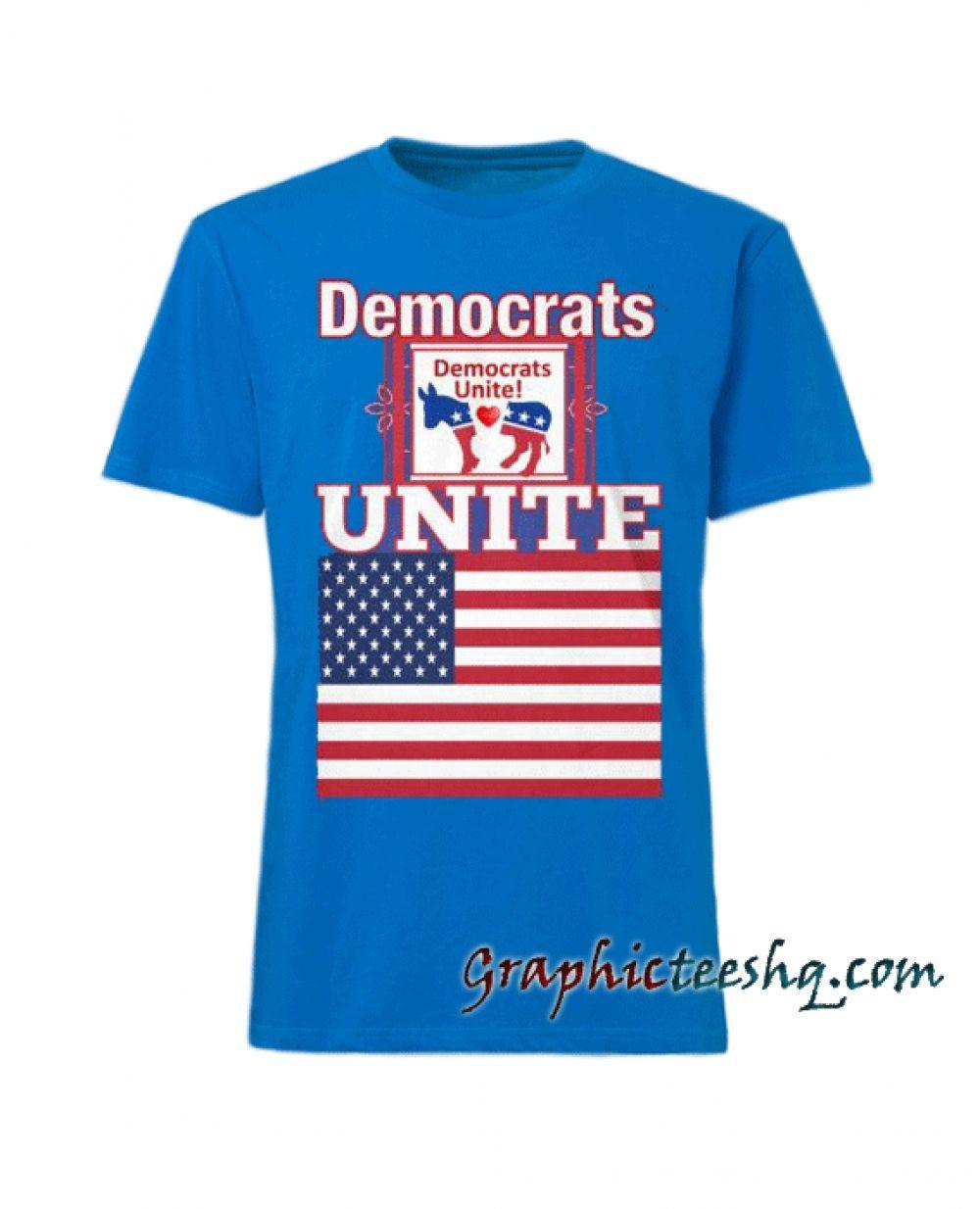 a75b547b Democrats Unite Deep Royal Tee Shirt Price: 13.50 #style #fashion #tshirts #