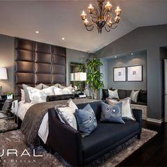 contemporary bedroom by Plural Design Inc.