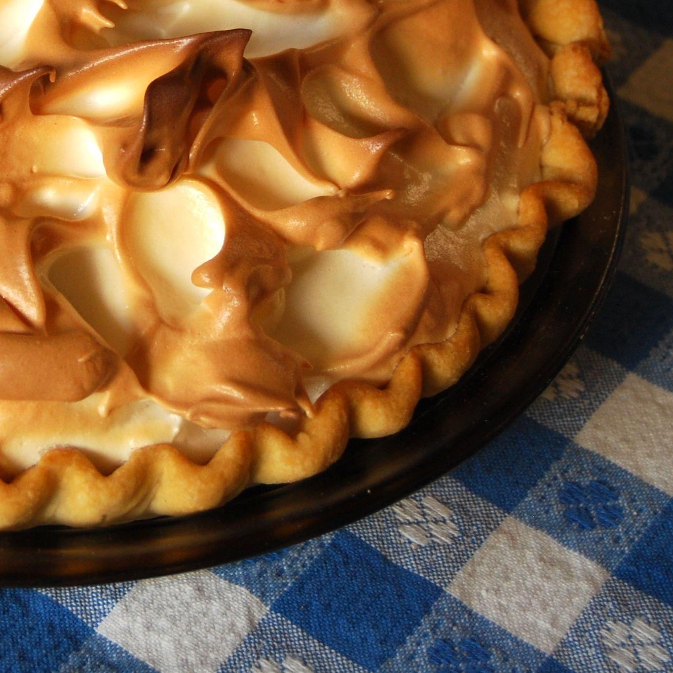 Lemon meringue. It's what's for Easter at my house. Recipe? Betty Crocker!