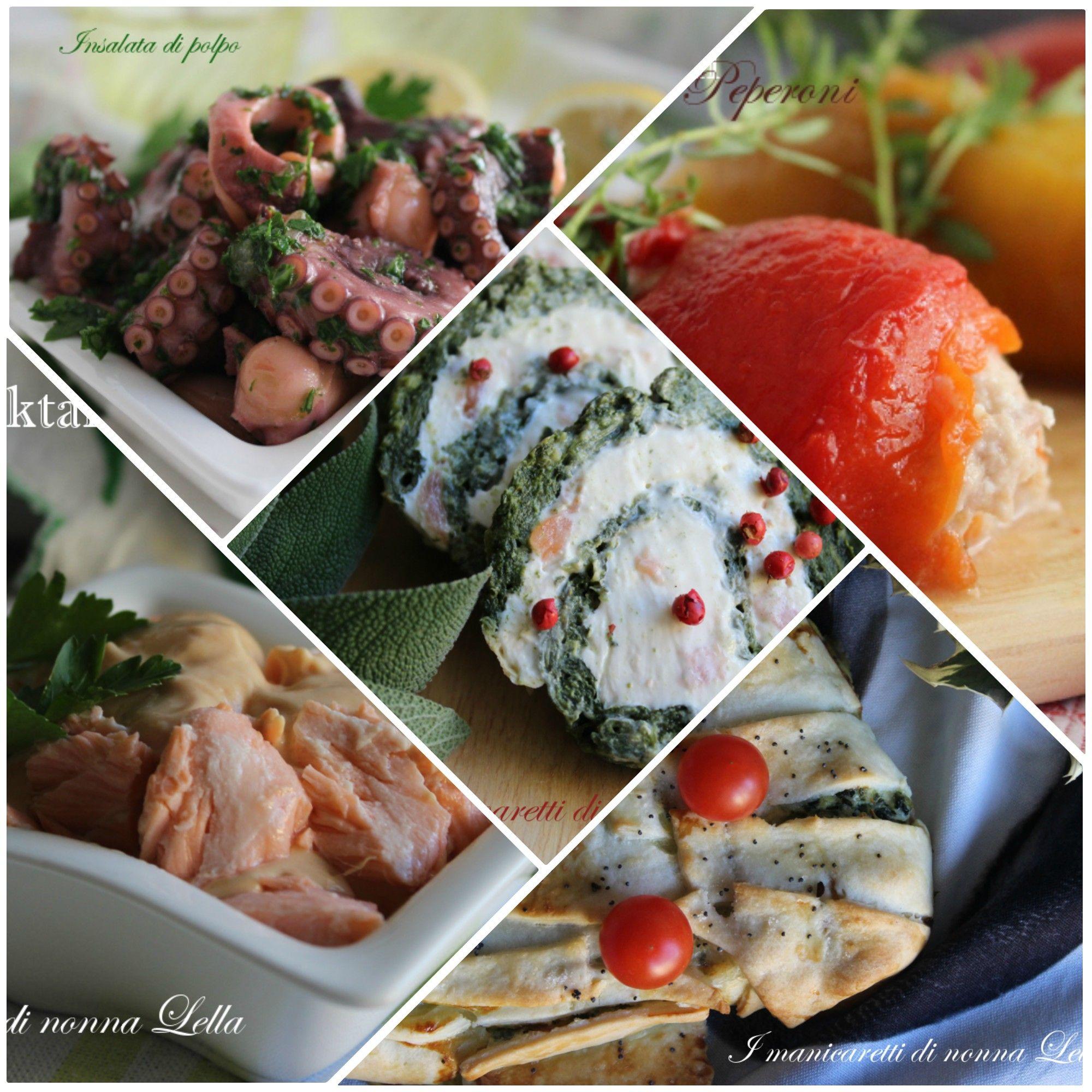 Antipasti di natale tante ricette facili e veloci di for Ricette di pesce facili
