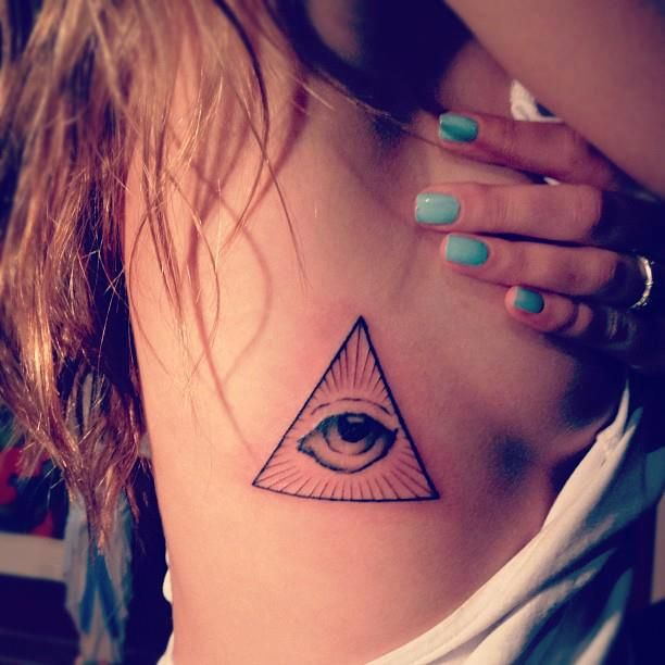 Eye Tattoos Designs Ideas And Meaning: Best 25+ Illuminati Tattoo Ideas On Pinterest