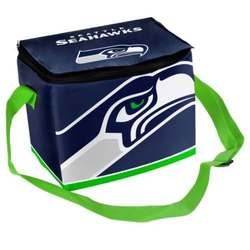 Seattle Seahawks Insulated Lunch Bag/Six Pack Cooler