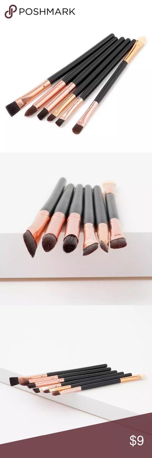 Photo of 6PCS Rose Gold Makeup Brush Set 6PCS Rose Gold Makeup Brush Set. Used for eyebro,  #6PCS #Bru…