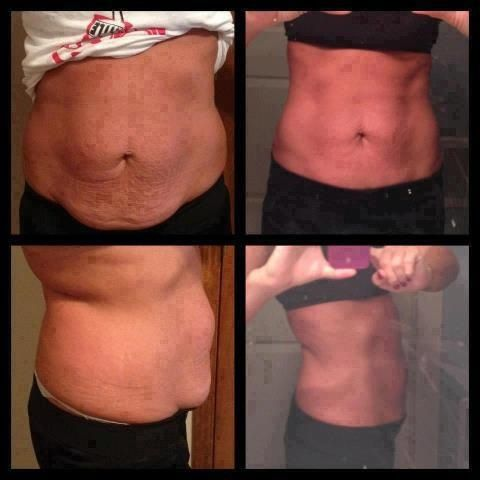 Tone, tighten, and firm in as little as 45 minutes! Order your Skinny Wraps from https://kailienations.myitworks.com