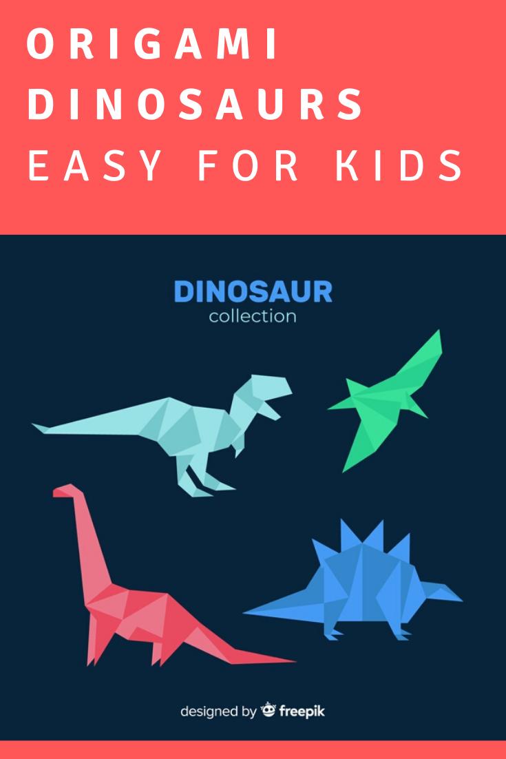 Photo of Dinosaurs Origami,  #Dinosaurs #Origami #origamidinosaur , Here are video tutorials to make …