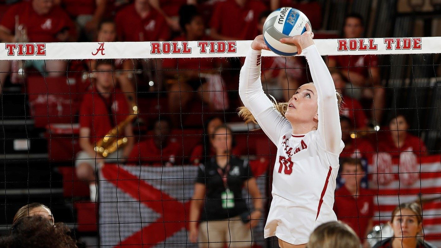 Alabama Volleyball S Meghan Neelon To Attend U S Women S National Team Open Tryout Alabama Athletics Olympic Training Center Olympic Training