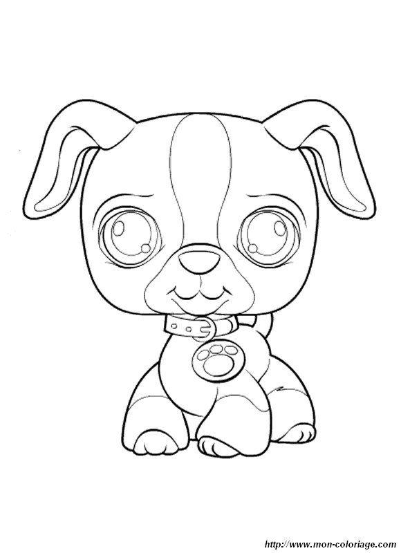 Coloring Petshop Page Littlest Petshop Dog Coloring Page Coloring Pages Disney Coloring Pages