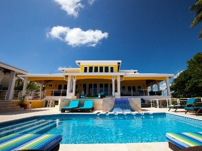 Lavish Beach House With Private Tennis Court Gym Chef Minutes From San Pedro Your Caribbean Dream Vacation Begins At Wataview