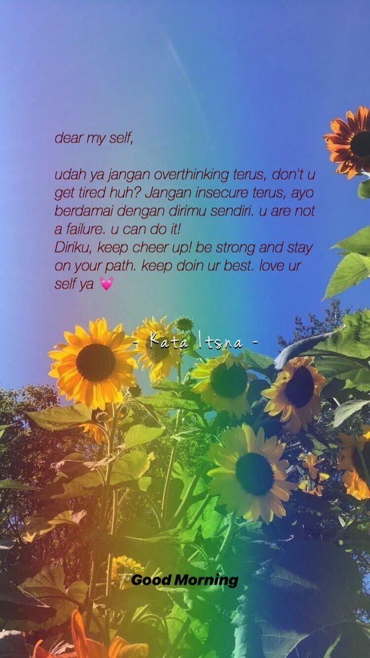 Dear My Self Bijak Kata Kata Mutiara Kutipan