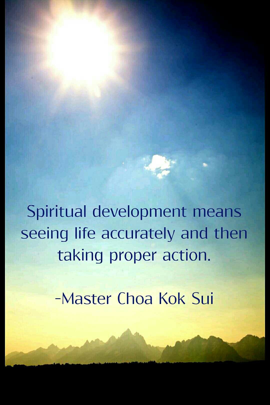 Life Spiritual Quotes Quotes Unfoldapp Mcks Spirituality Development Action Life