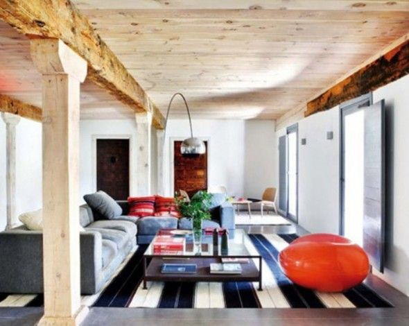 Living Room Interior Design Of Ructic House Modern Classic Renovation  Interior Decorating Ideas Of Rustic House