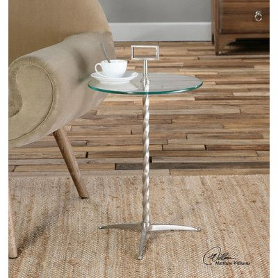 Uttermost Rozza End Table Glass Accent Tables Accent Table Table