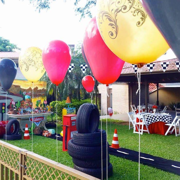 Kara S Party Ideas Car Themed 1st Birthday Party Via Kara: Disney Cars Themed Birthday Party