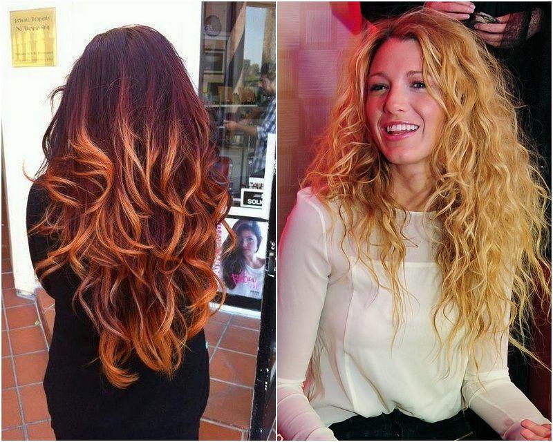 Colori di capelli lunghi