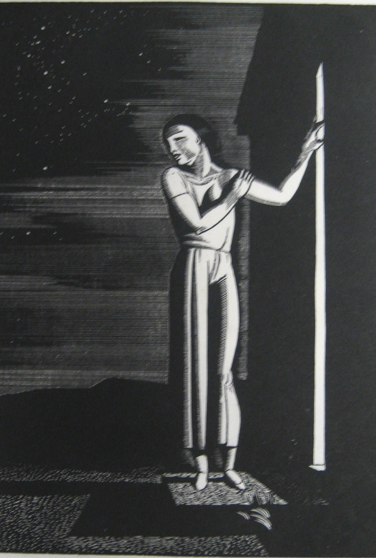 Kent rockwell 1882 1971 starry night