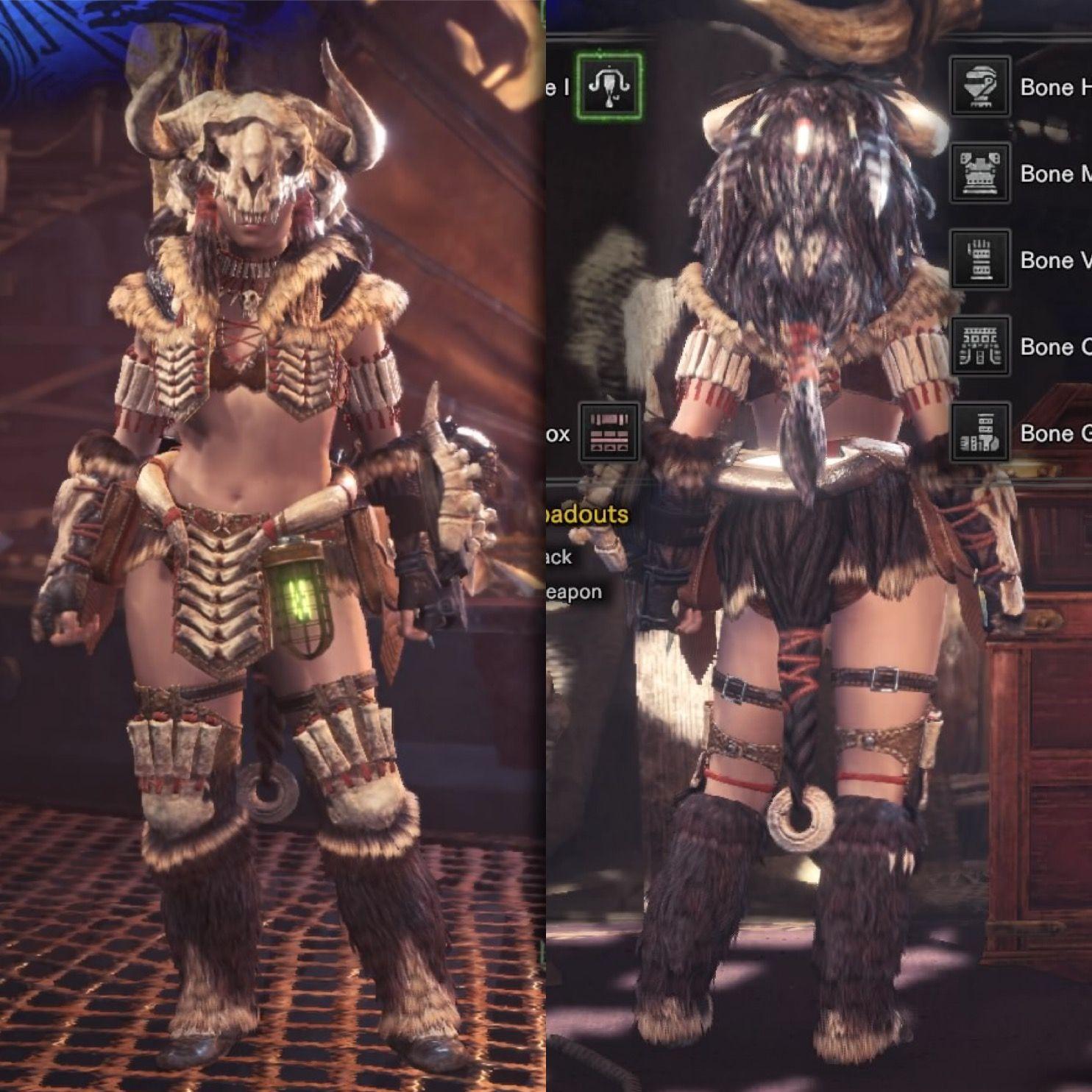 Monster Hunter World Bone Armor Best Image I Could Get Of The