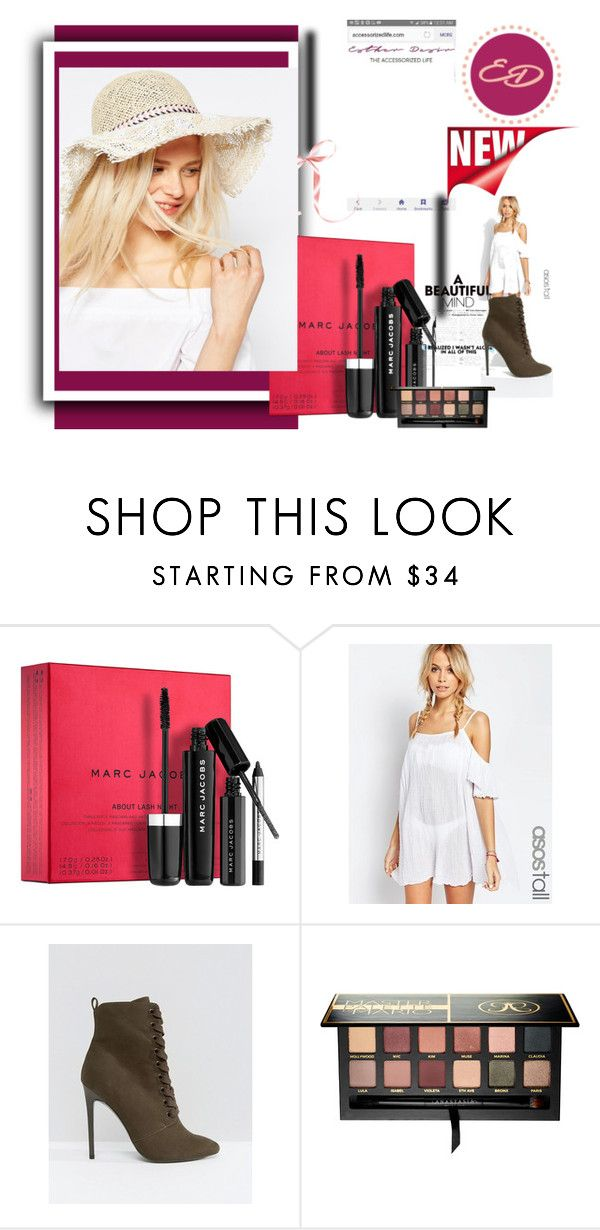 """""""Win $100 ASOS and $50 Sephora Gift Cards with The Accessorized Life by Esther Desir"""" by balsai ❤ liked on Polyvore featuring Marc Jacobs, ASOS and Anastasia Beverly Hills"""