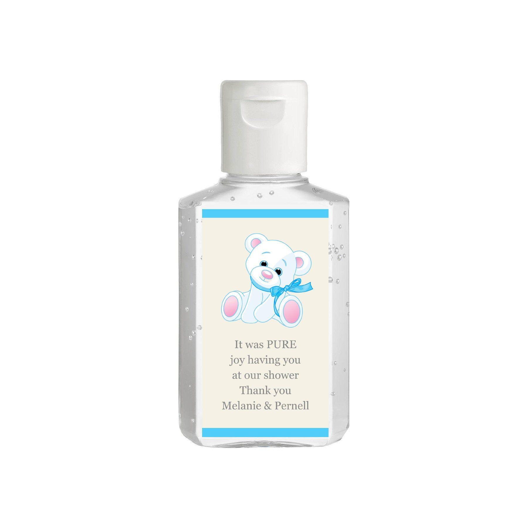 Purell Hand Sanitizer Labels 2 Oz Size Bottle Baby Shower