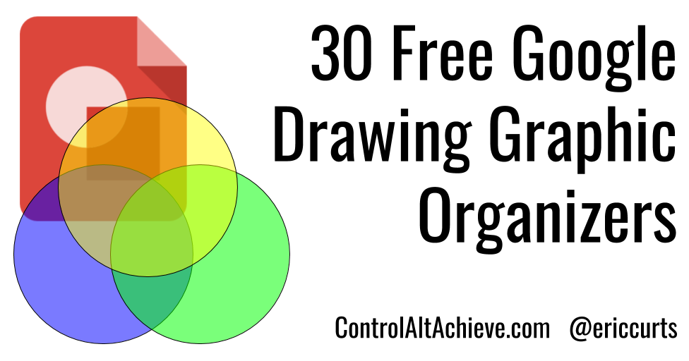 30 FREE Google Drawing Graphic Organizers | Glorious Google EDU ...