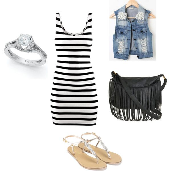A fashion look from August 2012 featuring black dress, sleeveless waistcoat and flat shoes. Browse and shop related looks.
