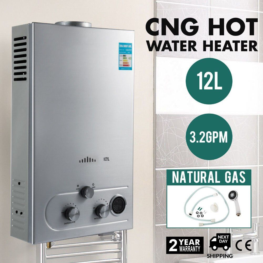 12l Lng 3 2gpm 24kw Tankless Instant Boiler Wall Mounted On Demand Liquefied Natural Gas Water Heater With Shower Head Kit With Images Water Heater Hot Water Heater Tankless Water Heater Gas