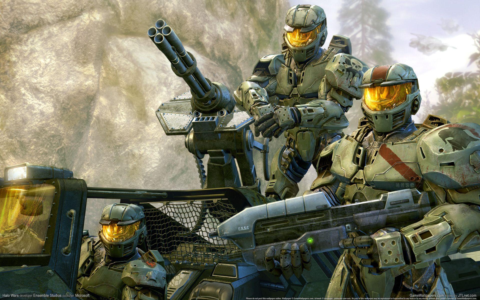 Halo Wars Wallpaper HD Ореол