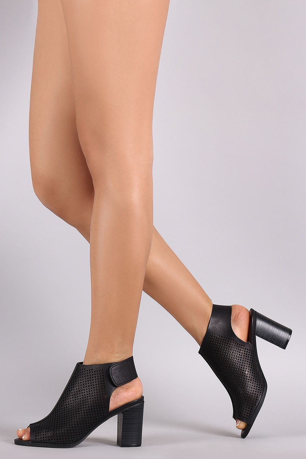 Qupid Womens Shoes Peep Open Toe | Fashion shoes