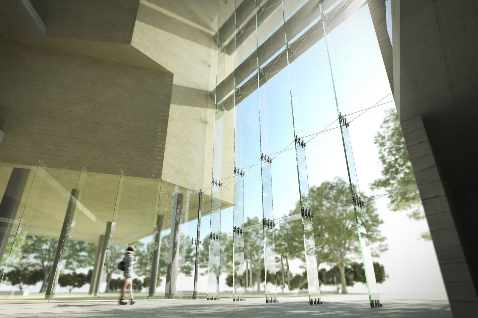 MTT_3D_CAIX_13_C2.jpg Museu do Trabalho e do Trabalhador. São Bernardo do Campo, SP, Brasil. Projeto: Escritório 'Brasil Arquitetura'.