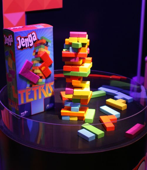 Surprise a gamer with this twist on a family favorite. The Tetris Edition ($14.99, ages 6+; amazon.com) features the same Jenga gameplay you know and love, but the logs are made to look like Tetris shapes — so you never know what you're going to get when you pull a piece out of this precarious stack! For more great games, be sure to check out our favorites from this year's Toy Fair.  - GoodHousekeeping.com