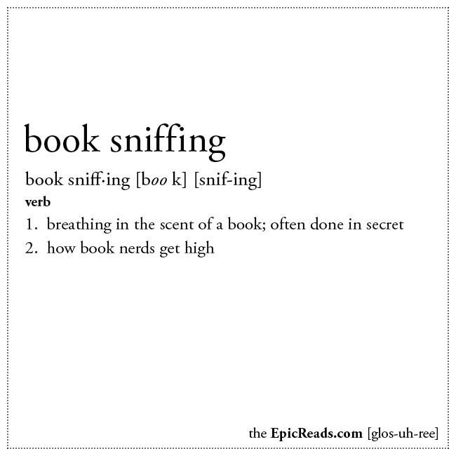 The Smell Of Books, Bookstores, Or Libraries.